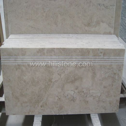 Cappuccino Beige Marble Polished Step