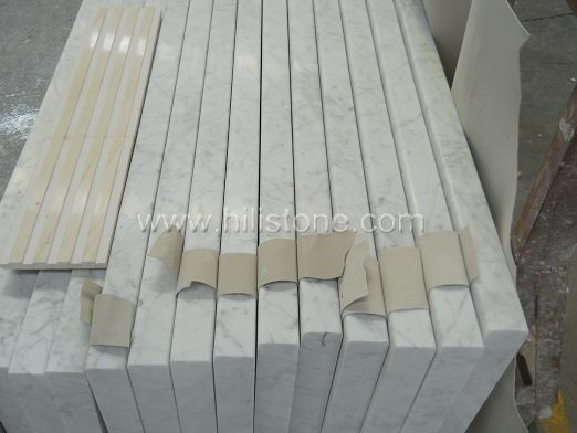 Carrara Bianco Marble Polished Step