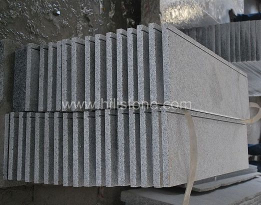 G603 Granite Polished Step