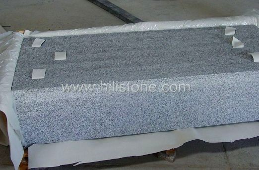 G614 Polished Step with Anti-slippery Strips