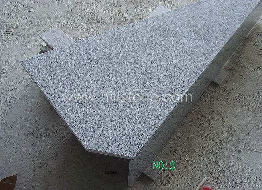 G633 Grey Granite Polished Step