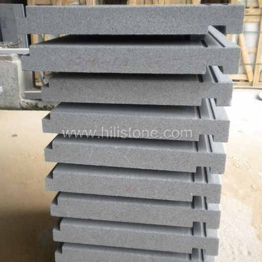 G654 Flamed Step with Anti-slippery Strips