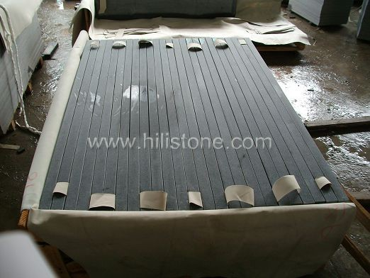 G654 Honed Step with Anti-slippery Strip
