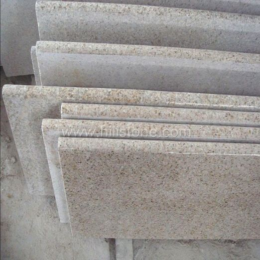 G682 Granite Polished Step with Bullnose edge