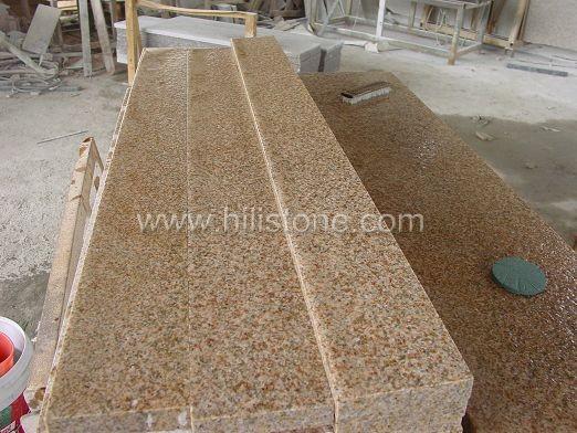 G682 Yellow Granite Flamed Step