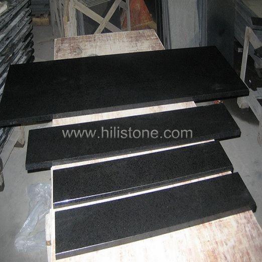 G684 Black Polished Step