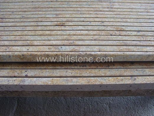 Kashmir Gold Granite Polished Step