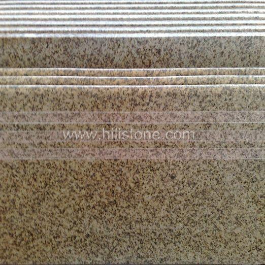 Thailand Golden Seasame Granite Polished Step