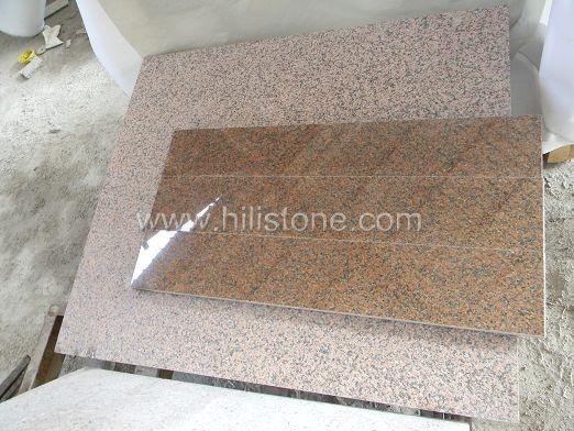 Tianshan Red Granite Polished Step