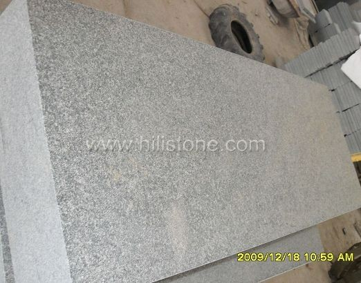 G612 Granite Flamed Stone Block Step