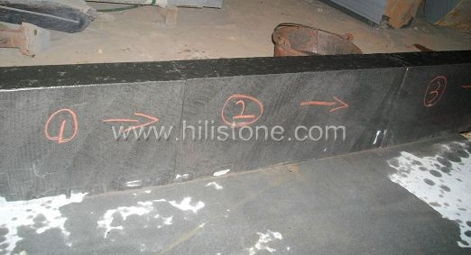 Black Basalt Rough Picked Stone Kerbs