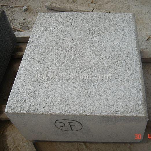 G603 Silver Grey Granite Flamed Drop Stone Kerbs