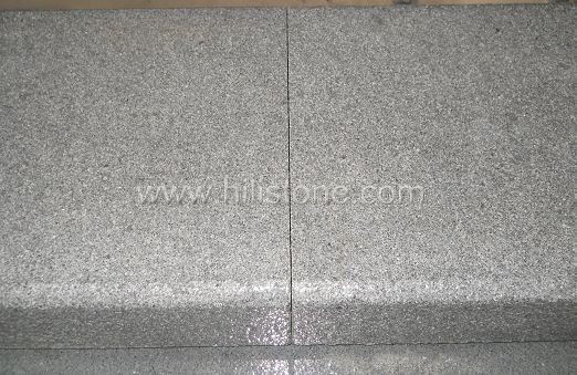 G654 Blue Black Granite Flamed Stone Kerbs