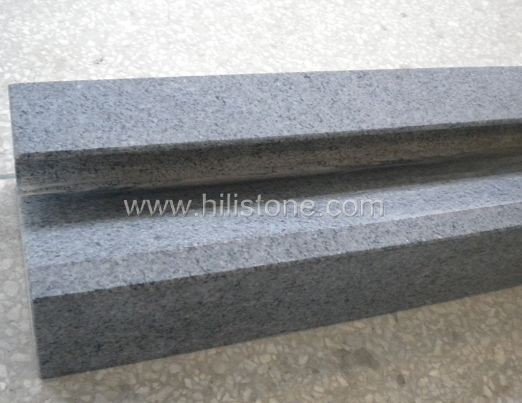 G654 Blue Black Honed Stone Channel