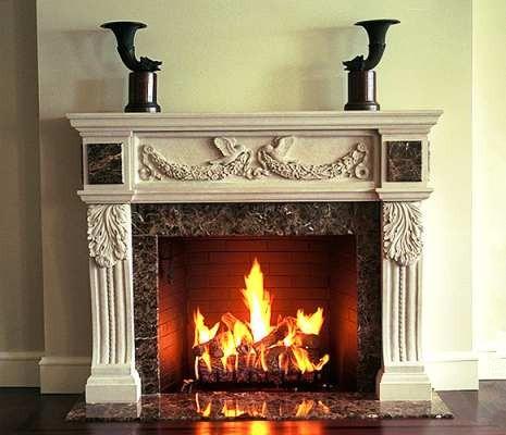 Fireplace mantel 15