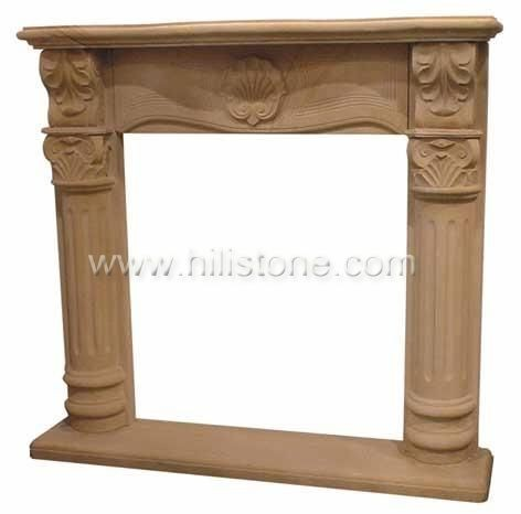 Fireplace mantel 16
