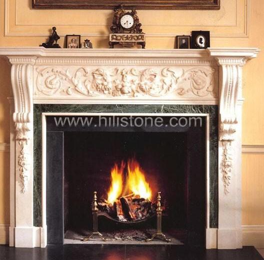 Fireplace mantel 20