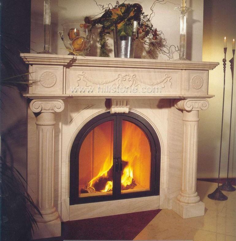 Fireplace mantel 8
