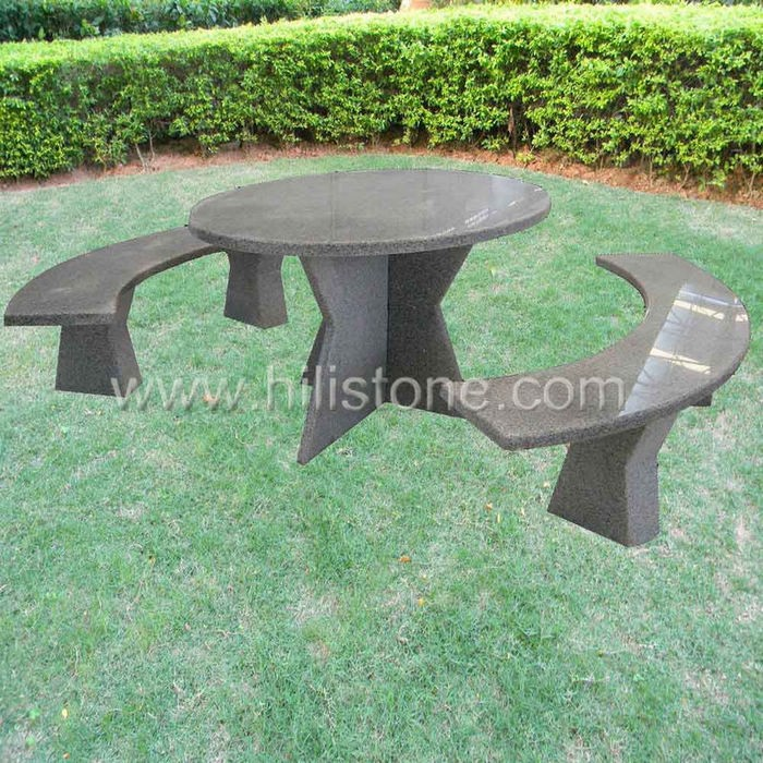 Stone furniture Table & Bench 22