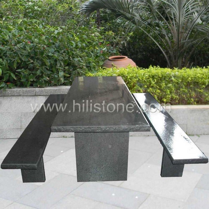 Stone furniture Table & Bench 27