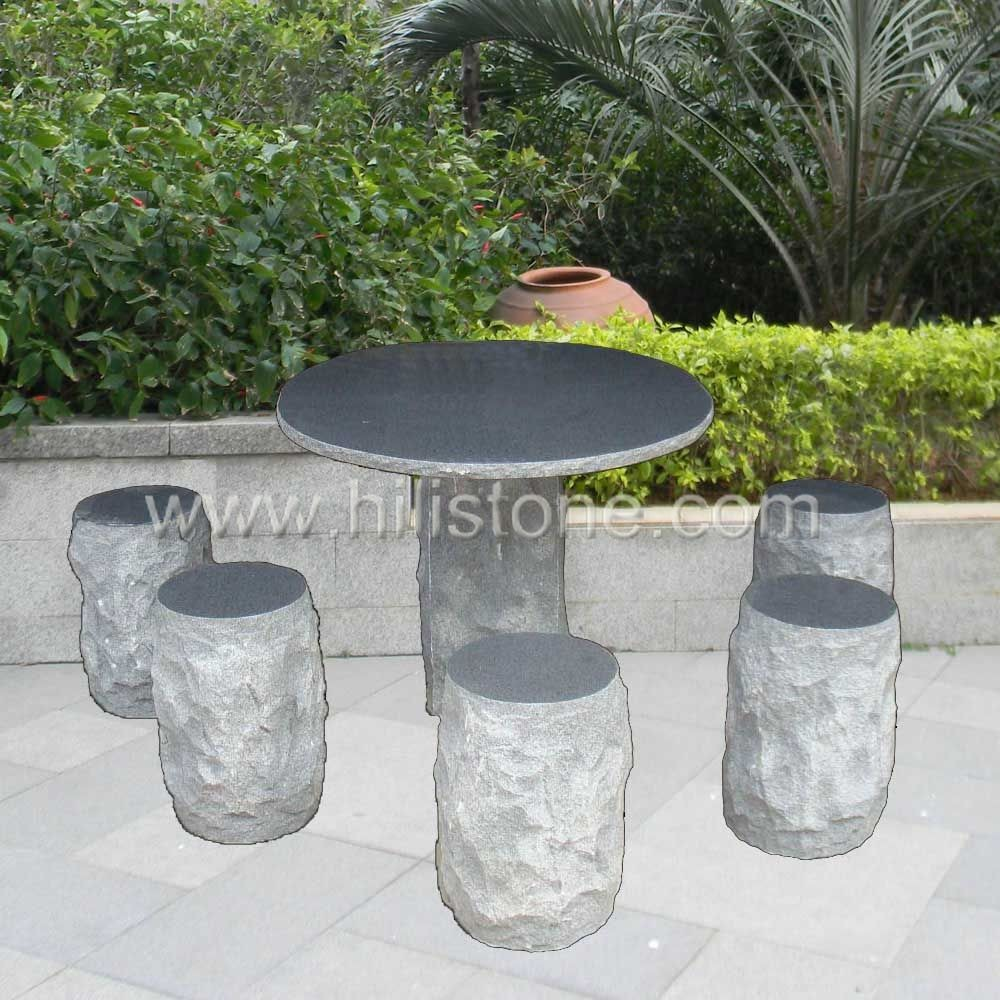 Stone furniture Table & Bench 29