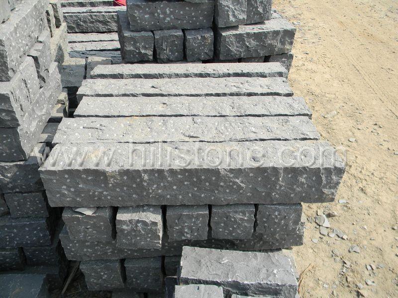 Stone Palisades Basalt 12x12 Rough Bushhammered