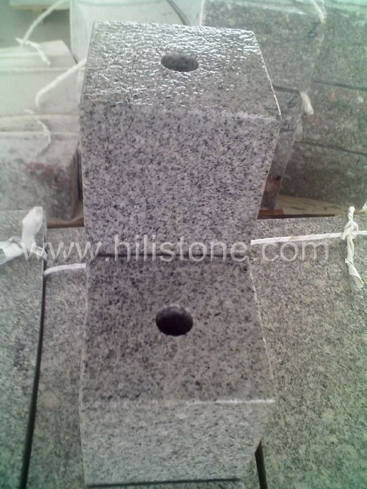Stone Palisades G603 Water Palisade bushhammered
