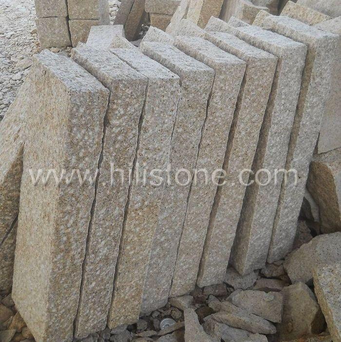 Stone Palisades G682 25x10cm Rough Bushhammered