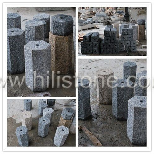 Stone Palisades Water pillars Hexagonal Pineappled