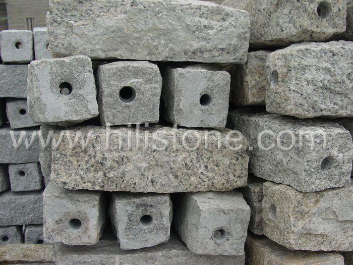 Stone Palisades Water pillars Natural