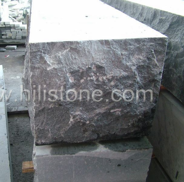 G684 Black Granite Natural Edges Wall Stone