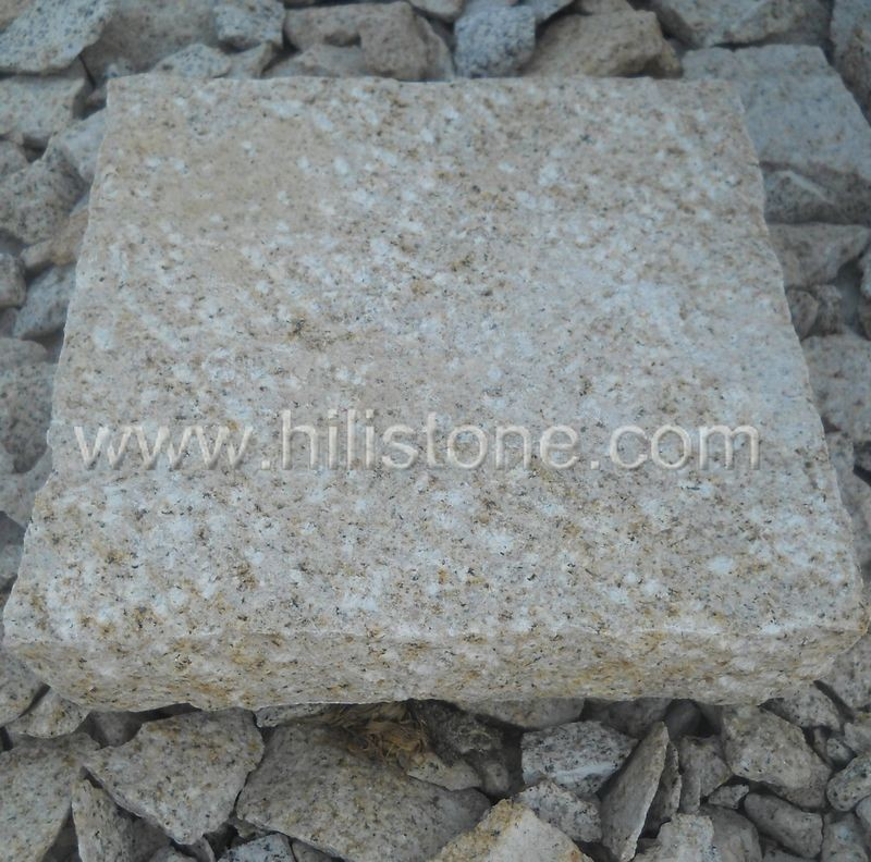 G682 Square Rough Bushhammered Stepping Stone