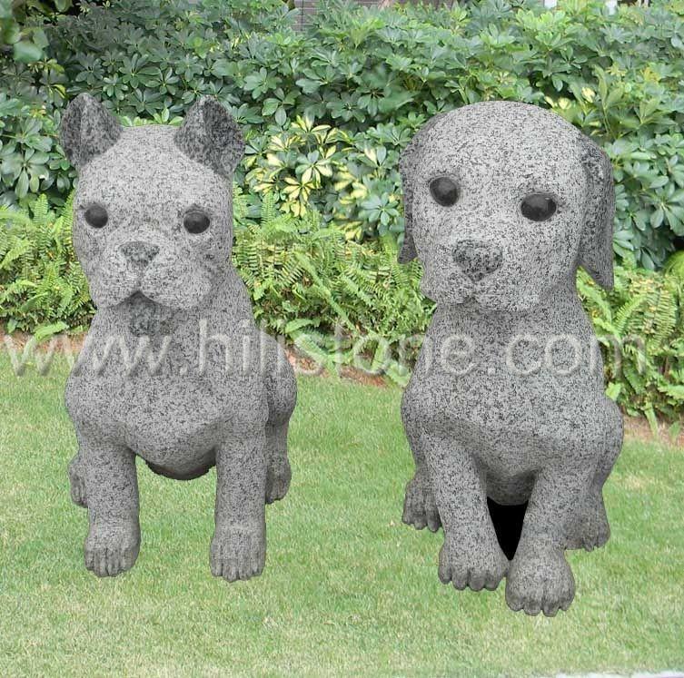 Stone Animal Sculpture Dog 10