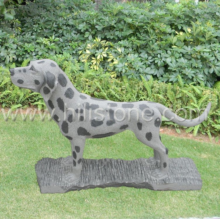 Stone Animal Sculpture Dog 18