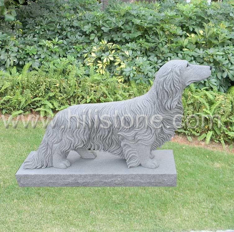 Stone Animal Sculpture Dog 8
