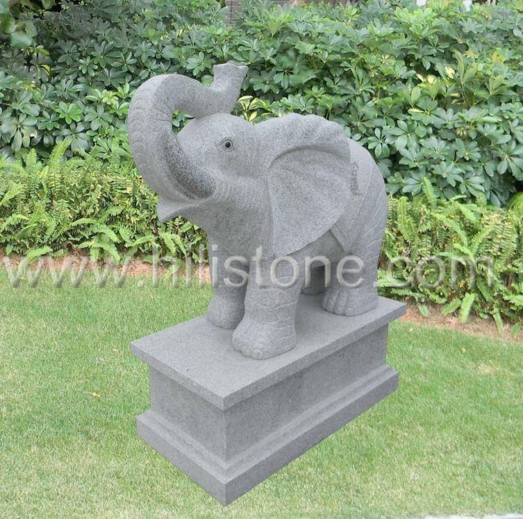 Stone Animal Sculpture Elephant 1