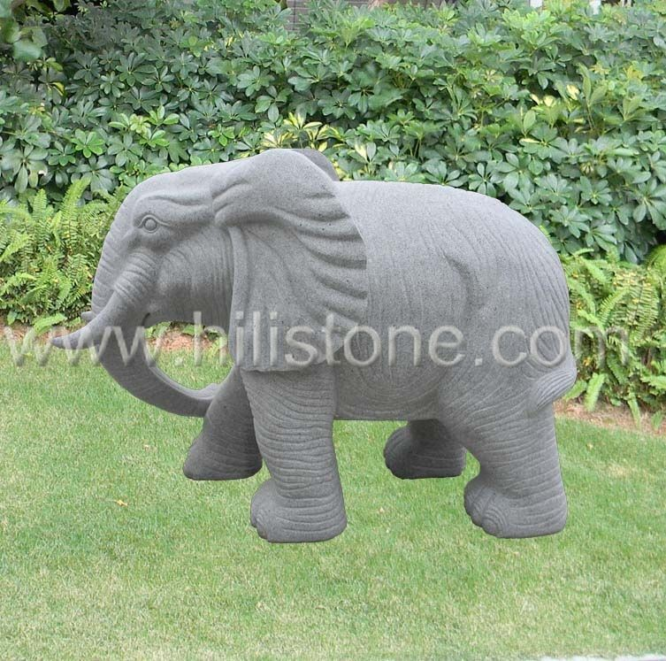 Stone Animal Sculpture Elephant 2
