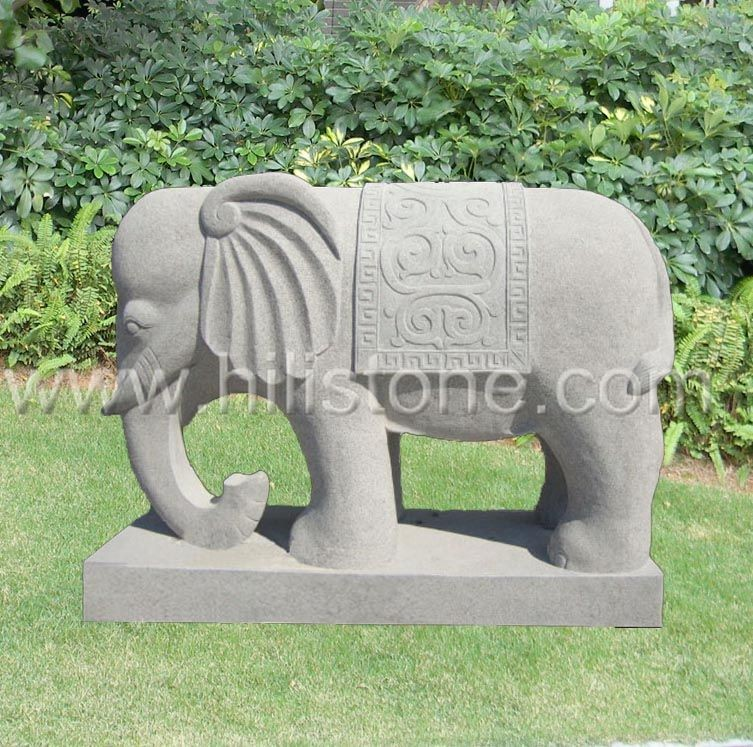 Stone Animal Sculpture Elephant 4