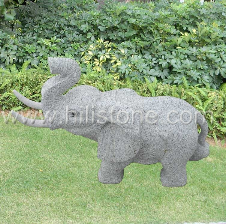 Stone Animal Sculpture Elephant 5