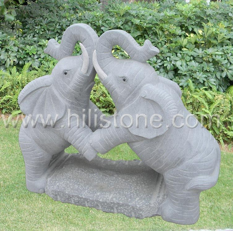 Stone Animal Sculpture Elephant 6