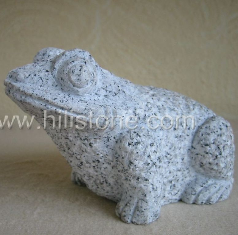 Stone Animal Sculpture Frog 1
