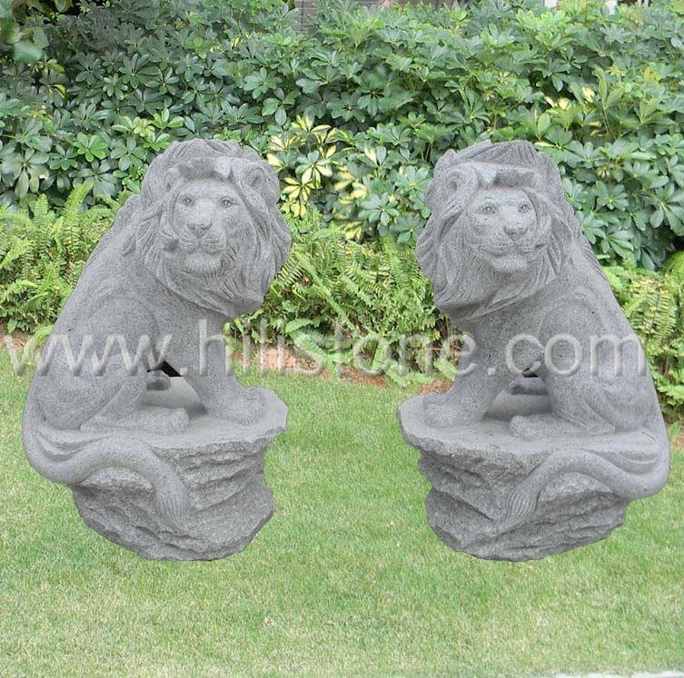 Stone Animal Sculpture Lion 2