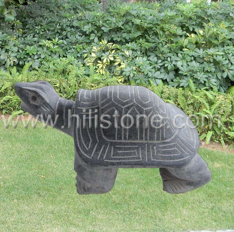 Stone Animal Sculpture Turtle 3