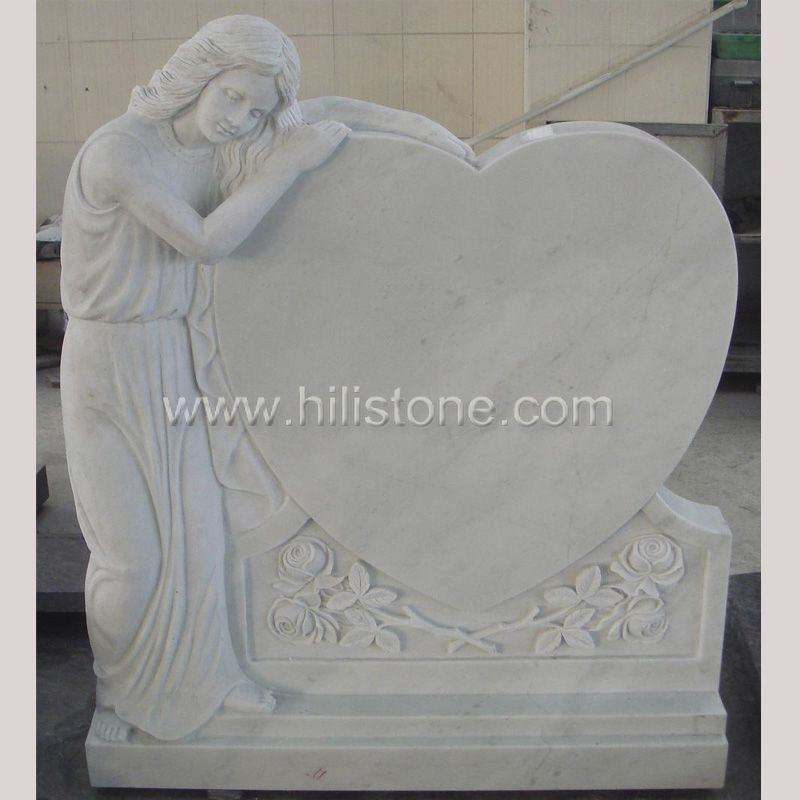 Tombstone-Headstone TM6 Marble Madonna
