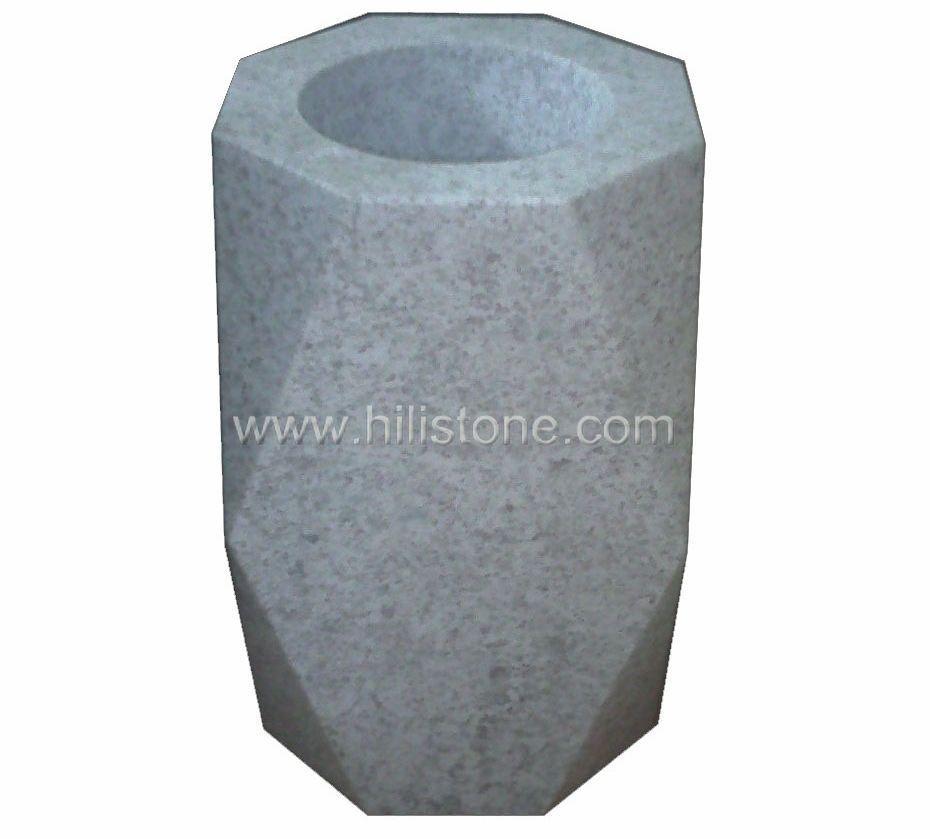 Pearl White Monument Vases