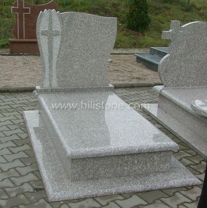 Tombstone Set TM50 G664 Bainbrook brown tombstone