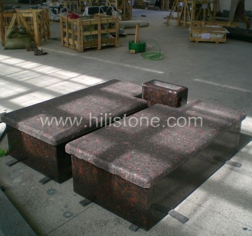 Tombstone Set TM54 Tan Brown tombstone
