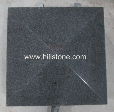 G654 Blue Black Polished Coping Stone