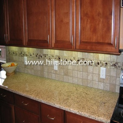 Giallo Ornamental Granite Countertop