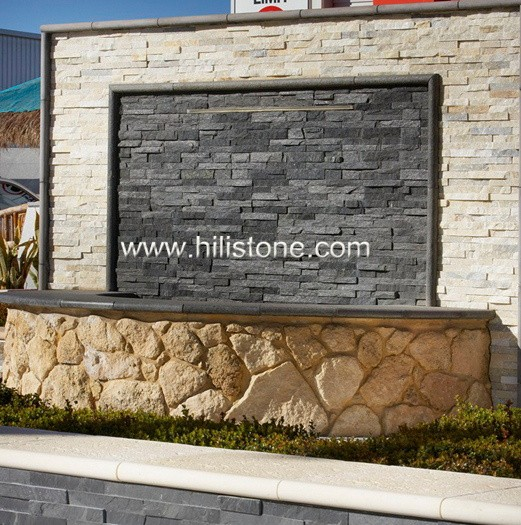 Black Quartzite Cladding